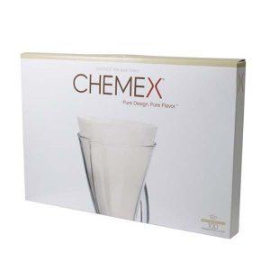 filtry chemex 100sztuk