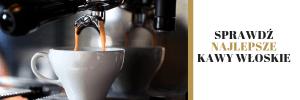 najlepsze kawy włoskie,baner,espresso